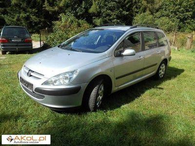 używany Peugeot 307 1.6dm 109KM 2003r. 177 000km