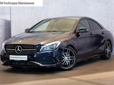używany Mercedes CLA220 2dm 184KM 2016r. 28 300km