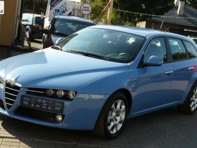 używany Alfa Romeo 159 1.9dm3 150KM 2009r. 191 000km ABS ręczna klima.