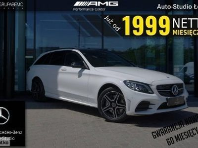 używany Mercedes 300 Klasa C W205 3004M Estate AMG KeylessGo MultibeamLED Kamera