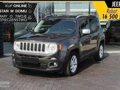 używany Jeep Renegade Face lifting Limited Limited 1.3 150KM DDCT|Apple Car Play/Android Auto| Bogata w, Chorzów