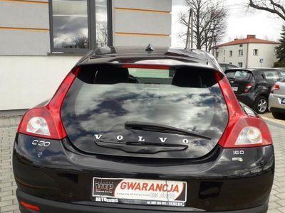 brugt Volvo C30 1.6dm3 110KM 2009r. 250 000km 1,6 d skóra tempomat pomarańczowe wnętrze raty zamiana