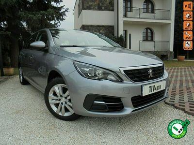 używany Peugeot 308 1.5dm 130KM 2018r. 121 000km
