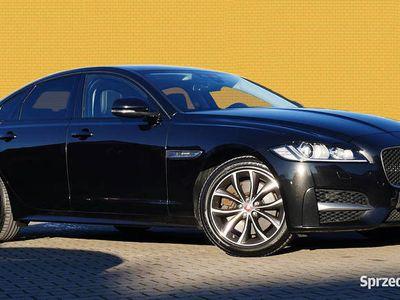 używany Jaguar XF R-Sport Meridian 2-kolorowa skóra Blis Kamera DAB