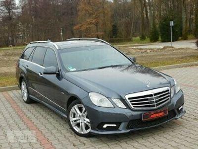 używany Mercedes 350 Klasa E W212Zarejestrowany - 3,0 - 265 KM - Avantgarde - AMG