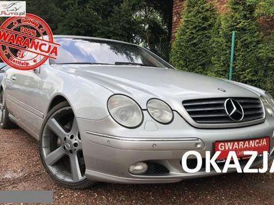 używany Mercedes CL500 5dm 306KM 2002r. 170 000km