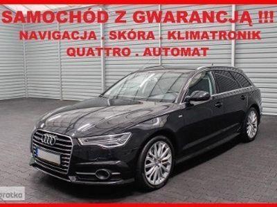 używany Audi A6 IV (C7) S LINE + QUATTRO + Automat + Navigacja + Klimatronik !!!