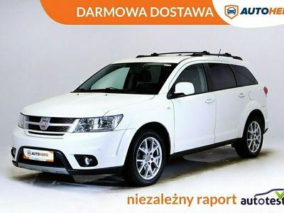 używany Fiat Freemont DARMOWA DOSTAWA, 1 Właściciel, Skóra, Klima auto, 7 os, PDC