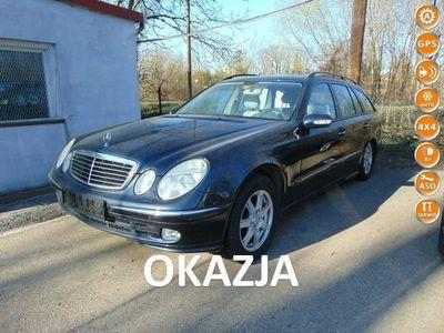 używany Mercedes E320 FULL-MAX-4x4-Navi-3,2 V6 Pb-Skóra-Alu-Bezwypad-SERWIS-SuperStan-OKAZJA W211 (2002-2009)