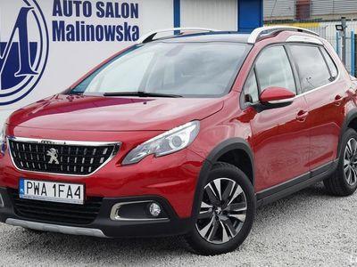 używany Peugeot 2008 1.2dm 82KM 2018r. 12 000km