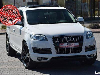 używany Audi Q7 3.0 V6 TDi 245KM X.2013r. Polski SALON lift 7os. Panorama