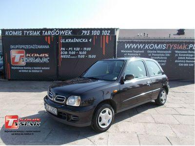 używany Nissan Micra !!!Targówek!!! 1.0 Benzyna, 2002 rok produkcji! KOMIS TYSIAK
