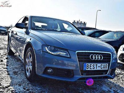 używany Audi A4 2dm3 180KM 2009r. 100 000km Gwarancja Techniczna, AUTOMAT, 2,0 Turbo-Benz - 180 KM, Bi Xenon.