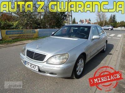 brugt Mercedes 320 Klasa S W220*XENONY*NAVI+DVD*AUTOMAT*Webasto*Skóra*Parktroniki*Tempomat*Gwar