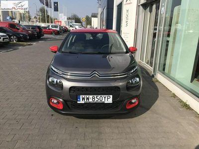 used Citroën C3 C3 1.2dm3 82KM 2018r. 2km1.2 PureTech 82 Shine