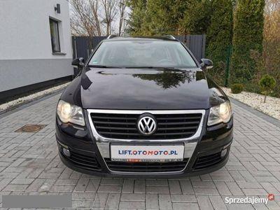 używany VW Passat B6 2.0 TDI 140KM 8V # Sport # Tempomat # Kubełki # Serwis # Hak #, Strzegom