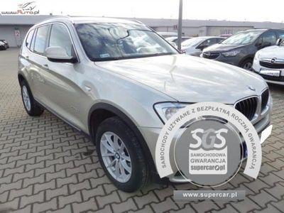 używany BMW X3 X3 2dm3 184KM 2011r. 105 867kmXDRIVE 20D AUTOMAT, FV 23%, Gwarancja!!