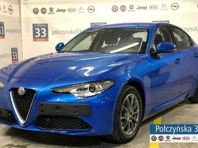 używany Alfa Romeo Giulia Super 2.0 200KM AT8 | Niebieski Misano | Ekran 8'8
