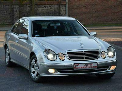 używany Mercedes E270 Klasa E W211177KM Automat 2002r. Avantgarde Xenon skóra