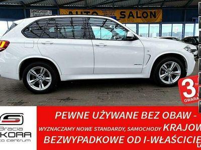 używany BMW X5 3 Lata GWARANCJA I-wł Kraj Bezwypadkowy MSport xDrive25d 231KM FV23% F15 (2013-)