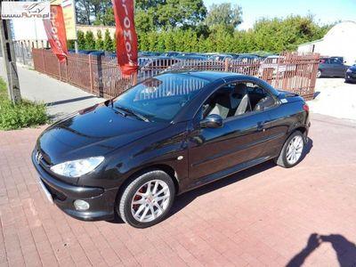 używany Peugeot 206 CC 1.6dm3 109KM 2006r. 153 000km RC Line 1.6 Benzyna Klimatyzacja Kubełki