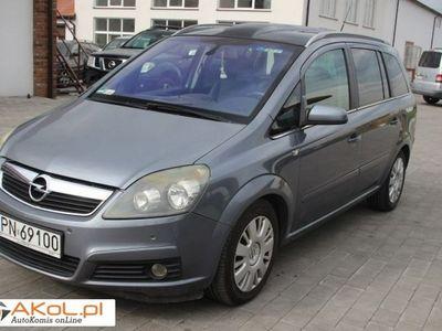 używany Opel Zafira 1.9dm 120KM 2005r. 235 000km