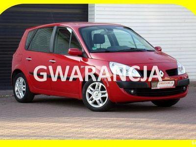 używany Renault Scénic II Klimatronic / Skóry / Hands Free / 1,6 / 112KM /2008r II (2003-2009)