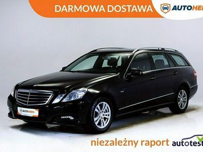 używany Mercedes E200 DARMOWA DOSTAWA, Serwis ASO, Xenon, LED, Navi. Półskóra