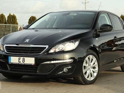 używany Peugeot 308 II STYLE 1.6 HDI Navi Klimatronik Gwarancja 12 m-cy !!!, Słupca