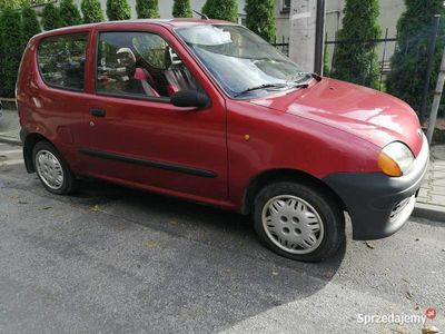 używany Fiat Seicento 900 1999 rok Sprawny Jeżdżący OC 29.01.2020