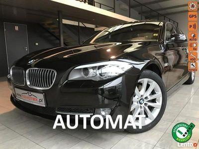 używany BMW 520 2.0D*automat*138Tkm*xenon*szyberdach*alu18*skóra*serwis ASO*gwarancja