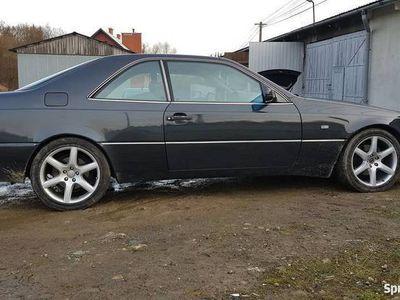 używany Mercedes CL600 W140 C140COUPE 400KM SEC 6.0 V12 ZAMIANA