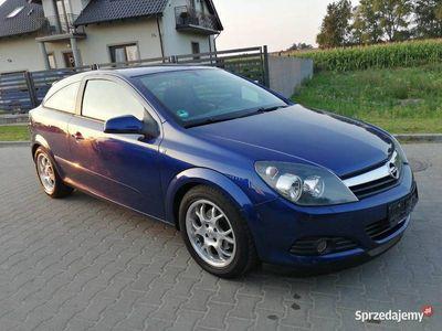 używany Opel Astra GTC Astra H1.6 benzyna 105 km, klimatyzacja, Niemcy!