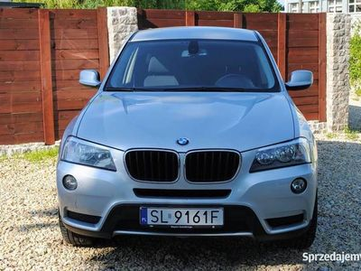 używany BMW X3 F25 2012 Rok X-Drive Zarejestrowany Nawigacja