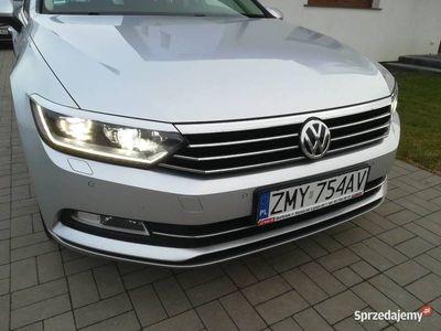 używany VW Passat B8 2.0TDI 150km manual kombi LED Navi serwis