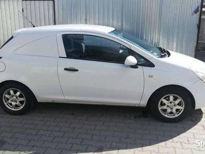 używany Opel Corsa D van
