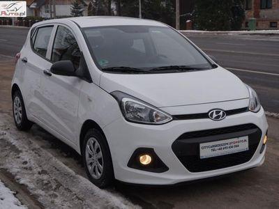 używany Hyundai i10 1dm3 66KM 2015r. 104 000km Benzyna Niemcy Klimatronic 2015 r.
