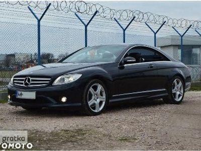używany Mercedes 500 Klasa CL W2162007 pakietAMG / pnematyka / HarmanKardon / masaże/bixenon/night