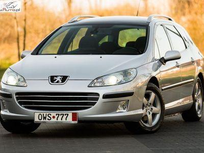 używany Peugeot 407 SW 2dm3 136KM 2006r. 200 000km 2.0i 136KM Panorama Klima Alu ! Serwis ! Gwarancja ! Opłacony !