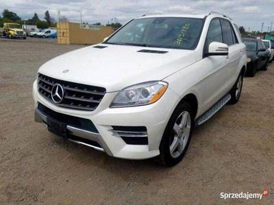 używany Mercedes ML350 ML 350 -Benz4matic BlueTec 3.0 V6 M276 240 KM 2014 W166 (2011-)