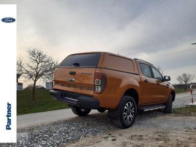 używany Ford Ranger III WILDTRAK 213KM Bi-Turbo Automat + HARDTOP Wyprzedaż rocznika 2019