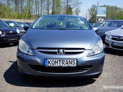 używany Peugeot 307 CC 2dm 136KM 2004r. 195 875km