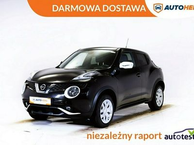 używany Nissan Juke DARMOWA DOSTAWA klima auto, navi, grzane fotele, kamera, hist, serwis, I (2010-2019)
