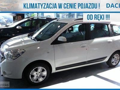 używany Dacia Lodgy LodgyOPEN 1.3 TCe 100KM | 7-osobowy | Koło zapasowe | Nakrycie baga