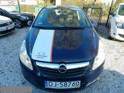 używany Opel Corsa 1dm3 60KM 2009r. 105 000km Klimatyzacja zarejestrowana faktura vat 23%