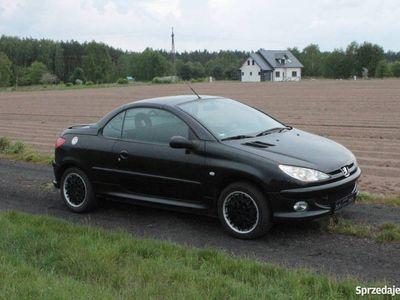 używany Peugeot 206 CC Kabriolet 2004 rok czarny alufelgi