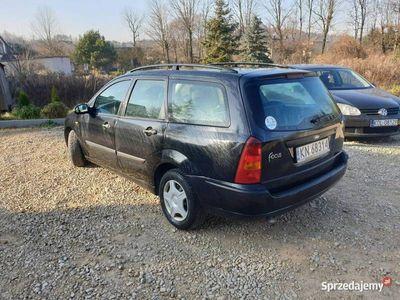 używany Ford Focus 2003 r_1.6 Benzyna_Klima_Elektryka_Długie Opłaty_100 % do Jazdy