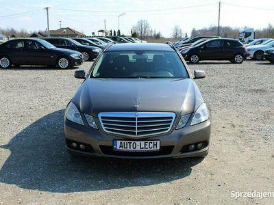 używany Mercedes E250 2.2 Cdi # Klimatyzacja automatyczna# Tempomat # Serwis #Gwarancja W212 (2009-)