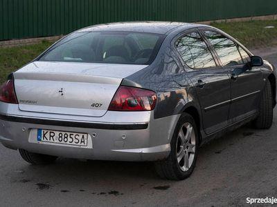 używany Peugeot 407 2.0 HDi po kolizji sprawny