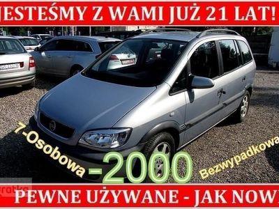 używany Opel Zafira A Bezwypadkowy 7-Osobowy